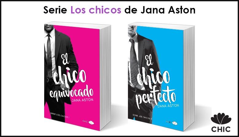 Serie Los chicos de Jana Aston