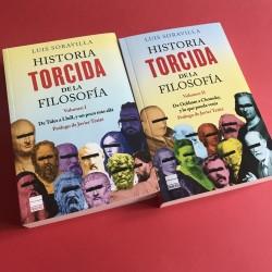 Pack Historia torcida de la Filosofía vol. I y II